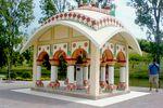 Sríla Prabhupáda emlékmű Krisna-völgyben