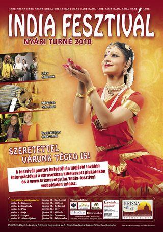 India fesztivál plakátja