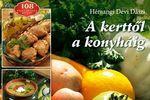 Hémangi Dévi Dászi Kerttől a konyháig című szakácskönyvének borítórészlete