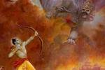 Az Úr Rámacsandra legyőzi Rávana démont