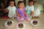 Az 1 éves kisgyerekek szülinapi tortája