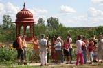 Kertészeti körbevezetés a 2009-es Krisna-völgyi Búcsúban