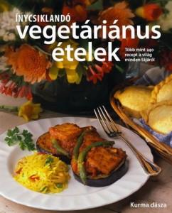 Vegetáriánus szakácskönyv Krisna-völgyben is kapható!